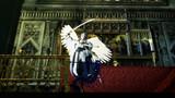 鶴さんと敵短刀ちゃんでサンピエール教会のミカエル像ごっこ