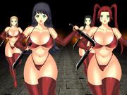 赤ビキニ女戦闘員