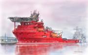 潜水作業支援船