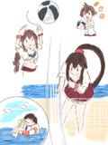 阿賀野型ビーチバレー
