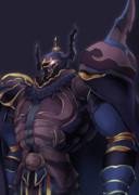 黒い甲冑ゴルベーザ