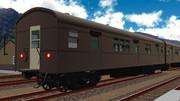 【MMD鉄道】国鉄オハ70(電車復旧車)モデル 公開