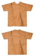 Tシャツ フルグラフィック チョコパウダー