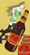 年季入り!ポスター風『サンセット・サルサパリラ』広告2!【Fate/MMD】