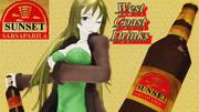 年季入り!ポスター風『サンセット・サルサパリラ』広告3!【Fate/MMD】