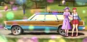 マキマキにはアメ車に乗ってほしい。