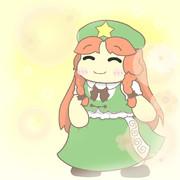 笑顔の美鈴