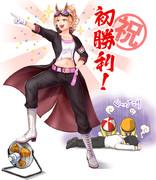 【擬人化】ファニーフラッシュ初勝利!【リアダビ】