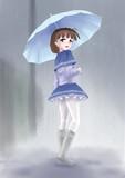 上の傘と下の傘