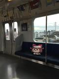 電車に乗るゆっくりさん