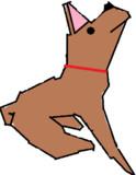 茨城県の犬を描いてみた