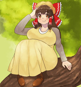 森ガールと化したKNN姉貴