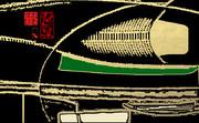 「お茶と甘味 11」※線画・金色・おむ08927
