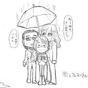 【THE ALFEE】アルフィーの雨の日、傘は一つで十分だぜ!なぜかって?桜井坂崎高見沢