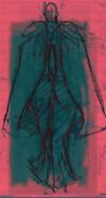 ウォーキングデッサン(塗り絵未満)