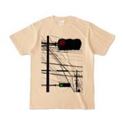 Tシャツ ナチュラル Aka-Ao/Shingo