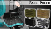 Back Pouch【MMDモデル配布】