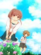 『ほっこりお姉さん と ツンデレ弟』イラスト2