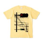 Tシャツ ライトイエロー Aka-Ao/Shingo