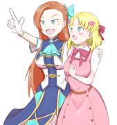 カタリナ様とマリアちゃん