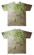 Tシャツ フルグラフィック わっかネギ