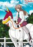 乗馬する風雲