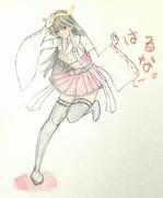 榛名さんとお絵描き練習3