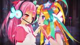 【MMD】はのちゃんとりぼんちゃん【すたーべあ!】