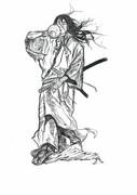 吉岡清十郎 by バガボンド