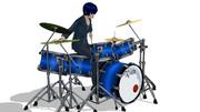 ドラムカラー設定ファイル(VMD)配布