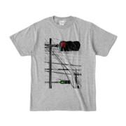 Tシャツ 杢グレー Aka-Ao/Shingo