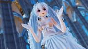 【MMD】TDA Haku Wedding Dress Ver 1.03「ハルジオン」