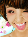 AKB48篠田麻里子さん模写った。