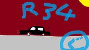 頭文字D 中里のR34