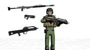 【ヤマトMMD】国連軍銃器詰め合わせ