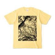 Tシャツ ライトイエロー FOREST_MORI