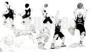 漫画系 バスケットボール