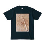 Tシャツ ネイビー SIMPLE-STUMP
