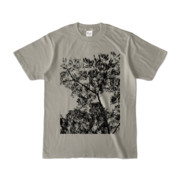 Tシャツ シルバーグレー Ki&Happa