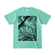 Tシャツ アイスグリーン FOREST_MORI