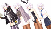 【MMD対魔忍】天宮紫水Ver1.10【モデル更新】