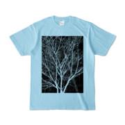 Tシャツ ライトブルー KURO.KI