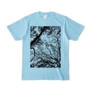 Tシャツ ライトブルー FOREST_MORI