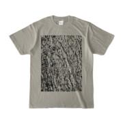 Tシャツ シルバーグレー MOKUME-MOKUME