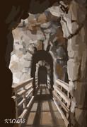 洞窟の中で…フフフ  一時間チャレンジ3