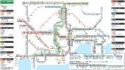 JR東日本 首都圏の全通勤種別の路線図