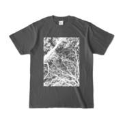Tシャツ チャコール FOREST_MORI