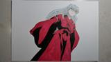 【半妖の夜叉姫】犬夜叉描いてみた。