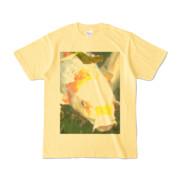 Tシャツ ライトイエロー 人面魚ちゃん