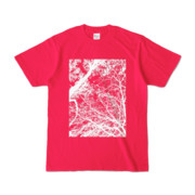 Tシャツ ホットピンク FOREST_MORI